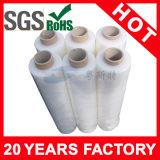 Rolagem de mão para uso industrial PE Stretch Pallet Wrap Film