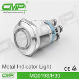 Lâmpada de sinal verde, luz de indicador de 22mm (luz Tri-color GRB RGY)