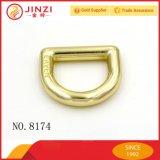 Le clip D en alliage de zinc de logo en métal de mode personnalisent le clip D