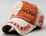 Kundenspezifischer Denim-Stein gewaschene gestickte Baseballmütze