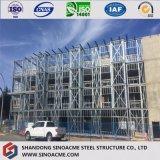 Il pannello a sandwich dell'unità di elaborazione ha decorato la costruzione prefabbricata multifunzionale della struttura d'acciaio