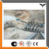 Perte de construction écrasant et réutilisant la chaîne de production artificielle de concasseur de pierres de machines