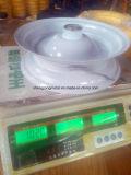 Roue libre plate de mousse de polyuréthane du pneu 4.00-8 de mousse d'unité centrale de pneu de brouette