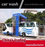 Machine automatique mobile de lavage de bus avec de l'eau à haute pression