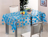 (TT0130) Mantel de PVC transparente Impreso Diseño Nuevo patrón de uso en el hogar