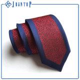 Relation étroite de cravate de polyester de Young Boys avec la couleur noire