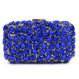 Партия Rhinestone новой сумки мешка вечера муфты женщин Deisgn роскошной Beaded морщит Eb874