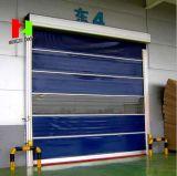 自動PVC屋外の産業急速な圧延ファブリック高速折るゲート