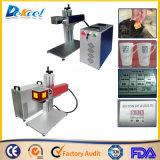 Customized 20W máquina de marcação a laser de fibra para Artes artesanato de metal