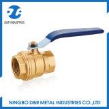 Dn25 PN16 llena la cavidad de la válvula de bola de latón de 1 pulgada