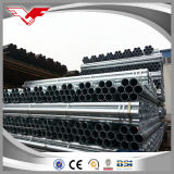 Precio de acero galvanizado sección hueco galvanizado del tubo de acero de ms Galvanized por el kilogramo