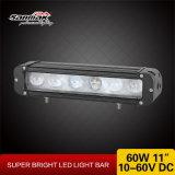 Los nuevos productos 11inch escogen 10W barras ligeras campo a través del CREE LED