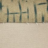 Cuir estampé tissé mou résistant de PVC d'unité centrale d'abrasion pour des meubles
