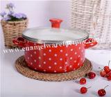 Cookware di riserva rotondo del POT dello smalto del fornitore