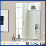 El suministro de 2mm 3mm 4mm 5mm 6mm de alta calidad sin cerco Rectangular biselado espejo de pared