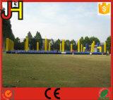 Paintballのゲームのための巨大で膨脹可能なテント