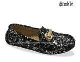 Les enfants de chaussures confort décontracté avec paillettes Spots Upper