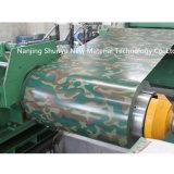 Bobina de acero galvanizada prepintada modelo del OEM del surtidor del oro del fabricante de Shandong