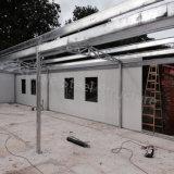 Mini taller prefabricado de la estructura de acero con Toliet
