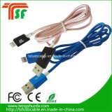 Mfi Factory Nylon Braid Colorful USB Charger Cable para iPhone