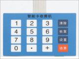 LED 16 touches de claviers pour l'interrupteur à membrane tactile Control Board, écran de soie imprimés