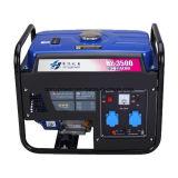 Generador portable de la gasolina del firmán eléctrico del generador 220V 170f 1.5 kilovatios