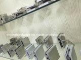 黄銅が付いているステンレス鋼はガラスドアのためのパッチの付属品を調整する