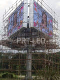 Pared video al aire libre de la visualización LED de la alta calidad P8 con los granos de la lámpara de Nationstar