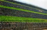 Caixa de gabião revestido de PVC/Rede/China-Hebei Gaiola de Pedra