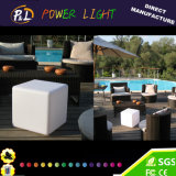 Cubo illuminato LED d'ardore di RGB dell'indicatore luminoso solare del giardino