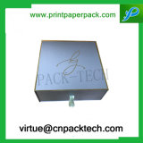 Rectángulo de regalo de papel de empaquetado rígido de encargo de Slipcases de la alta calidad