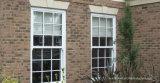 Vitre coulissante de verticale moderne Double fenêtre bloqué
