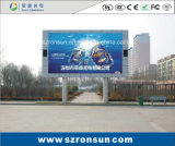 P8mm que hace publicidad de la pantalla de visualización al aire libre a todo color de LED de la cartelera
