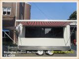 Camion de nourriture de remorque de nourriture de Ys-400A Churros à vendre Arabie Saoudite