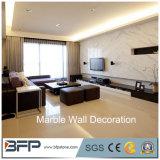 De aangepaste Bekleding van de Muur van de Steen van het Ontwerp Witte Marmeren/Marmeren van de Muur van de Draak van de Strook