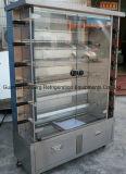 De commerciële Kip Rotisserie van het Gas van de Plicht van Heavty van het Restaurant Verticale