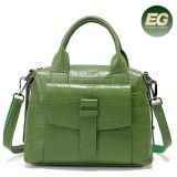 2017 패션 디자이너 핸드백 상표 실제적인 가죽 어깨에 매는 가방 도매 공장 가격 Emg5057