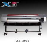 Impresora solvente de Xuli el 1.8m Eco con Dx5 doble