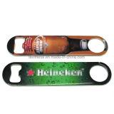 Promotion sur mesure Bouteille de bière en acier inoxydable pleine couleur
