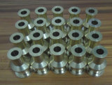CNC de cobre/del latón que trabaja a máquina productos modificados para requisitos particulares del prototipo