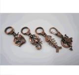 주문품 동향 다채로운 Bronzesouvenir 열쇠 고리