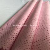 Tela 100% de acoplamiento del poliester del color de rosa para Casualwear (HD1105175)