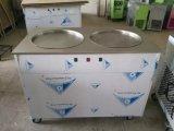 Doppelte Wannen-Fischrogen-Eiscreme-Maschine Thailand
