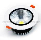Алюминиевый УДАР СИД Downlight освещения света 18W для трактиров
