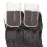 Pelucas delanteras del cordón (pelo humano del 100%)