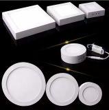 6W luces del panel cuadradas de la superficie LED