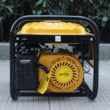 Генератор мотора 220V одиночной фазы рамки опытного поставщика зубробизона (Китая) BS3500h 2.8kw 2.8kVA круглый