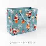 Bolso del regalo de la Navidad de la manera de la alta calidad con la maneta