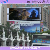 P5 fixo exterior totalmente colorida SMD LED HD Display Board para publicidade