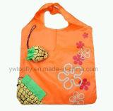 Saco de compra Foldable relativo à promoção da morango da bolsa do armazenamento de Eco